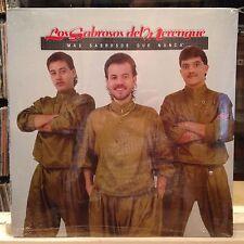 SEALED LP~Los SABROSOS DEL MERENGUE~Mas Que Nunca~[Original 1991 Issue]~LATIN