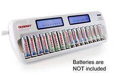 Tenergy TN438 16-Bay Auto-detect AA/AAA NIMH/NICD LCD Built-in IC protection