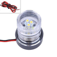DC 12V Marine Boat Yacht Light All Round White LED Anchor Navigation Light