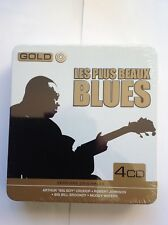 GOLD - COFFRET 4 CD VERSIONS ORIGINALES - LES PLUS BEAUX BLUES