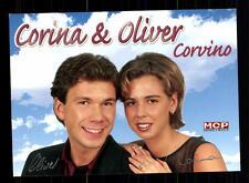 Corina e Oliver Corvino AUTOGRAFO MAPPA ORIGINALE FIRMATO # BC 72870