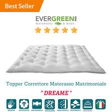 Topper Correttore Materasso in Memory Foam MED Coprimaterasso h 7cm Evergreenweb