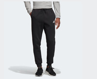 ADIDAS PANTALONE TUTA UOMO MUST HAVES PLAIN NERO DT9910 BLACK ORIGINALI