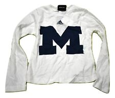 adidas Youth Girls Michigan Wolverines Shirt New S (7-8)