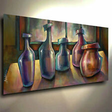 Still Life Art Modern CONTEMPORARY Giclee Canvas Print of a Mike Lang Painting