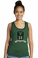 Majestic Athletic NBA Milwaukee Bucks Women's Premium Triblend Contrast Tank ...