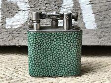 A Dunhill Deco Shagreen Lighter