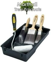 Stanley Max Finish Brush 6 Piece Decorating Set - Paint Brushes / Roller / Tray