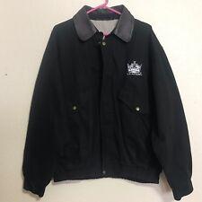 Los Angeles Kings Dunbrooke Navigator Jacket Leather Collar Size L
