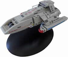 #32 Star Trek DS9 Runabout Die Cast Metal Ship-UK/Eaglemoss w Mag-FREE S&H