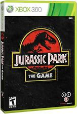 Jurassic Park: The Game [Xbox 360 Dinosaurs Action Adventure Telltale Games] NEW