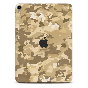 Skins Decal Wrap for Apple iPad Pro 11 2018 Brown Desert Camo camouflage