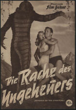 "1955 ""Revenge of the Creature"" German Advertising Flyer"