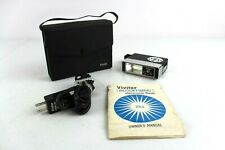 Vintage Vivitar Auto Flash 251 w/ Case and Owners Manual