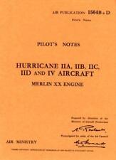 Hawker Hurricane IIA, IIB, IIC, IID and IV (Air Ministry Pilot's Notes) by  | Pa