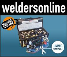 UNIFLAME UNIMIG Oxy Acetylene Welding Gas Kit