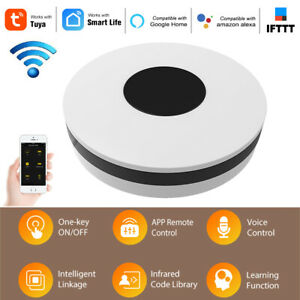 Smart WiFi IR Remote Controller Infrared Control Hub for Alexa Google Home M1N8