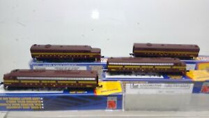 LOT 4 Life-Like PENN RR TRAIN LOT-A & B Units  -Gently Used (N22)