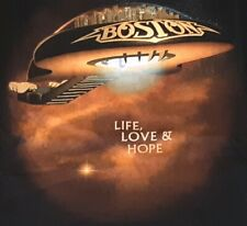BOSTON Heaven on Earth BAND Concert tour 2014 w dates cities t shirt XXL 2XL
