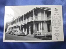 1940's RPPC LEGER HOTEL MOKELUMNE HILL CALAVERAS COUNTY CA UNUSED EKC/FRASHERS