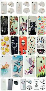 TPU Schutz Hülle Kollektion Motive Case Cover Apple // Samsung // Huawei NEU