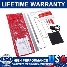 12Pcs Car Door Key Lost Lock Out Emergency Open Unlock Tool Kit W/Air Pump Wedge