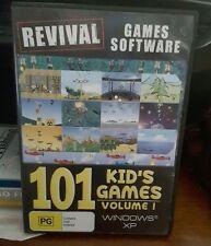 101 Kid's Games Volume 1 -  PC GAME - FREE POST