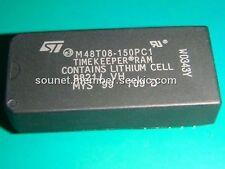 ST M48T08-150PC1 DIP-28 64 Kbit 8Kb x 8 TIMEKEEPER SRAM