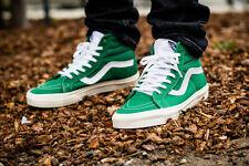 NW Vans Mens 10.5 Sk8 Hi Reissue 10 oz Canvas Verdant Green Marshmallow Sneakers