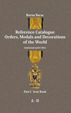 ORDER, MEDAL, DECORATION, CATALOGUE - Borna Barac: Reference Catalogue Part 1