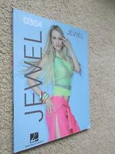 Jewel - 0304 - Guitar Piano Rock Music Song Book Hal Leonard New Rare Oop