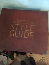 Mid Century Decorating SHERWIN WILLIAMS STYLE GUIDE 1941 PHOTOS PAINT CHARTS