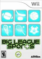 Big League Sports - Authentic Nintendo Wii Game