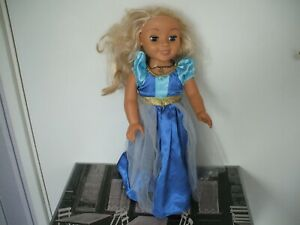 """HARD BODIED DOLL GENESIS 19"""" ( 48CM ) BATTERY OPERATED DOLL UNTESTED 19"""" DOLL"""