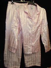 Striped Full Length Button Front Women's Lingerie & Nightwear