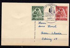 Berlino-timbro speciale su carta 15.10.1951 a N. 80/81 - KW € 70,-- (13307)