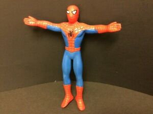 """1989 Just Toys SPIDERMAN Bendable Figure Bendy Bend Figure 6"""" tall"""