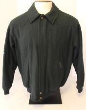 VTG POWDER RIVER OUTFITTERS PANHANDLE SLIM Men's M Wool Blend Green Jacket Coat