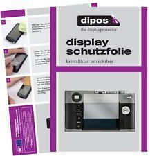 6x Leica M-E (Typ) 240 Schutzfolie klar Displayschutzfolie Folie Display Schutz