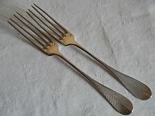 2 fourchette en Argent massif (poinçon Minerve)