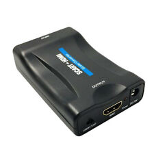 1080P Scart to HDMI Adaptor Upscaler Video Audio Converter Adapter For TV H K7C4