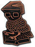 Wise Owl Bronze Award Pin Badge For Schools