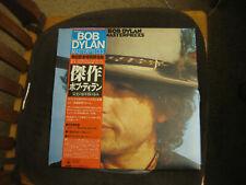 Bob Dylan – Masterpieces (1978) Japan CBS/Sony – 57AP 875~7 MINT 3 LP vinyl