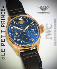IWC 5028 Big Pilot Le Petit Prince 18k Rose Gold Rare Watch Box/Papers IW502802