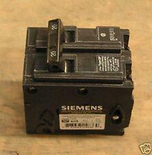 0 Siemens ITE 20 amp circuit breaker Q220  type QP