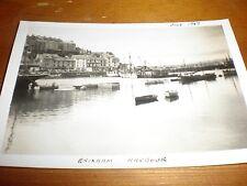 Old Photo Brixham Harbour Devon 1947