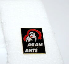 2 Vintage Adam Ant & the Ants Music Group Rock Band Pin Button 1980s New NOS