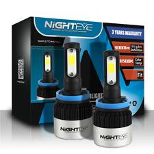 NOVSIGHT Pair H11 H8 H9 Car LED Light Headlight Bulb Lamp 9000LM 6500K White