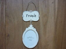FRENCH COUNTRY STYLE HANGING FRIENDS PHOTO FRAME