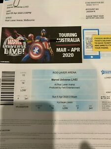 Tickets to Marvel Universe Live - Rod Laver Arena Sunday 5 April 2020